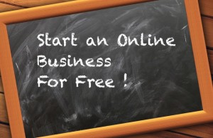 Start online business for free