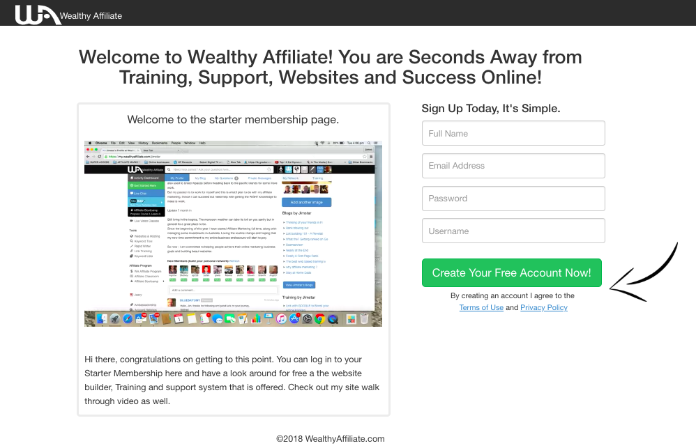 Learn affiliate marketing online