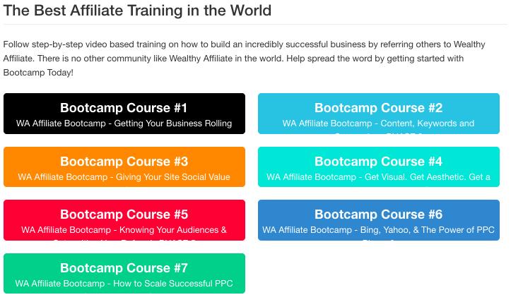 Learn online affiliate marketing