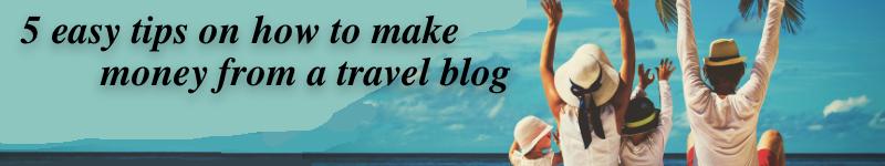travel blog tips