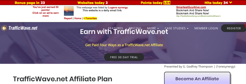 Traffic Exchange Sites
